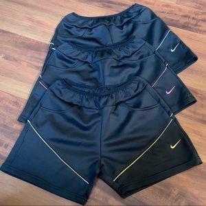 🚨🆕 ✨LOT OF 3✨ Nike Workout Gym Shorts